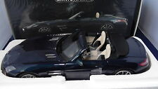 1/18 Minichamps Mercedes-Benz SLS AMG Roadster 2011 Blaumetallic Neu OVP
