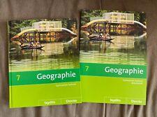 Schulbuch mit Arbeitsheft, Geographie, Klasse 7, Gymnasium