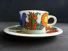 Villeroy & Boch Kaffeetasse mit Untertasse ACAPULCO Vitro-Porzellan, 60er Jahre