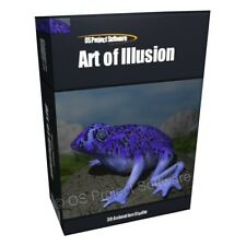 Art of Illusion Pro 3D Animation Modeling Software for Windows 7 PC MAC OSX