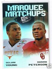 2007 Press Pass SE Marquee Matchups Young / Peterson