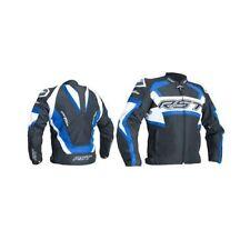 Blousons bleus ajustable en longueur taille pour motocyclette