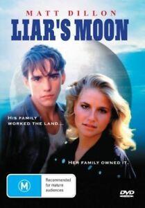 LIARS MOON DVD 1981 Matt Dillon Cindy Fisher - Rare OOP - REGION 4 AUSTRALIA