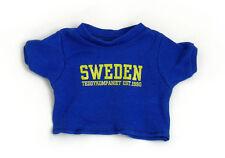 New Teddykompaniet Sweden Teddy Bear T-Shirt Sweden Small 15T