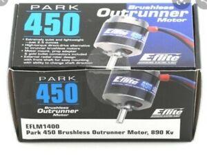 E-Flite Park 450 Brushless Outrunner Motor, 890Kv: 3.5mm Bullet EFLM1400