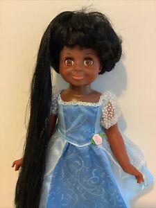 Vintage Ideal Doll - Crissy - Velvet - African American