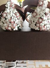 Authentic Louis Vuitton Limited Edition Sandals,Leather/Textile, 40, Box, Italy.