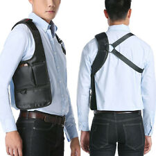 Trendy Anti-Theft Hidden Underarm Shoulder Wallet bags Holster Phone Bags Black