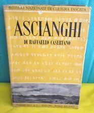 Casertano ASCIANGHI - Tumminelli 1938 colonie italiane Addis Abeba Gen. Dalmazzo