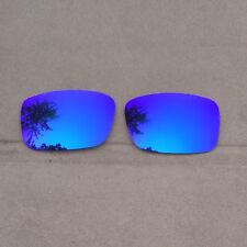 Purple Mirrored Replacement Lenses for-Oakley Crankcase Sunglasses Polarized