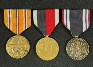 WW2 US Pacific Campaign, POW and Occupation Medals