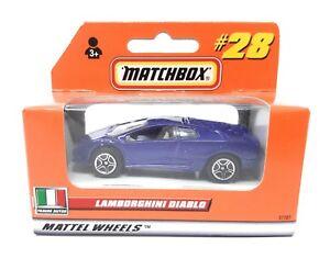 Matchbox MBX Superfast 1999 No 28 Lamborghini Diablo German issue