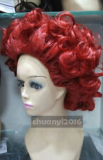 "The Red Queen Cosplay Wigs Ladies wig ""Alice in Wonderland"" Queen of Hearts Hair"