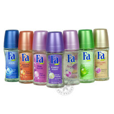FA ROLL ON DEODORANT FOR WOMEN 50ML - US SELLER SHIPS WITHIN 24 HOURS 7 SCENTS