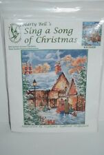 Marty Bell's Cross Stitch Kit Sing A Song Of Christmas Kit #1430