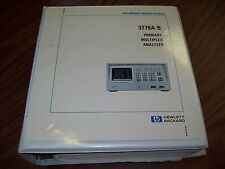 HP 3779A/B Primary Multiplex Analyzer Preliminary Service Manual