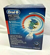 Oral-B Pro 5000 Smart Series Rechargeable Electric Toothbrush Blue NEW