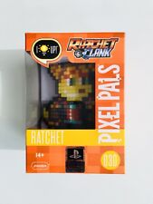 PlayStation PDP Pixel Pals Ratchet & Clank: Ratchet Light Display 030 NEW