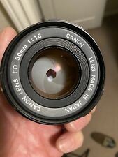 Mint! Canon nFD 50mm F/1.8 Lens