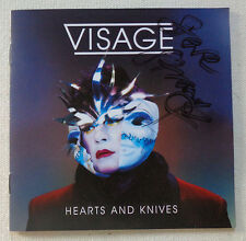 AUTOGRAPHED - 'Hearts & Knives' - Visage [IMPORT CD]