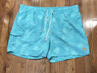 Tommy Bahama Aqua Swim Trunks Mens Size 2XL