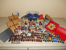 192pc TECH DECK LOT Figures Skateboards Ramps Cards Accessories TONY HAWK BLIND