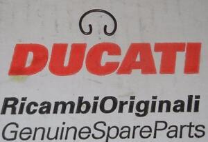 "Ducati vintage wrist pin clip with ears 11/16"" = 17.5mm uninstalled diameter"