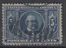 USA Scott #326  5 cent  Louisiana Purchase   HCV
