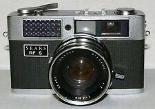 Vintage Sears Rf 5 35mm rangefinder film camera with Rikenon 4.8cm f/2 lens (e)