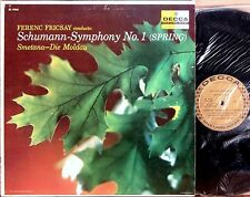 DECCA GOLD Schumann SYMPHONY #1 Smetana DIE MOLDAU Fricsay DL-9960