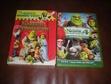 LOT 2 DVD DREAMWORKS - SHREK LE TROISIEME + SHREK 4 LE DERNIER CHAPITRE