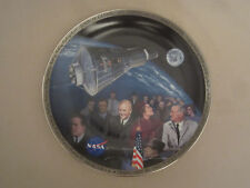 Astronaut John Glenn collector plate Flight Of Glory Space Travel Nasa R. Schaar