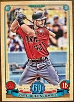 2019 Topps Gypsy Queen Jackie Robinson Day 42 SP Variation Paul Goldschmidt MINT