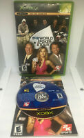 World Poker Tour - Complete - Damaged Case - Tested & Works -Original Xbox