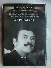 YO PECADOR all Region NEW DVD PEDRO ARMENDARIZ LIBERTAD LAMARQUE SARA GARCIA