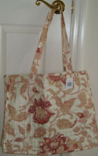 FABRIC multicolor POLYESTER QuiltedTOTEshoppingDiaperBeach shoulder bag15hx18wx4