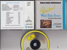 BALLAST NEDAM DEUTSCHE GRAMMOPHON PROMO CD West Side Story BERNSTEIN W GERMANY