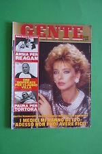 GENTE 2/1987 ENRICA BONACCORDI CLAUDIO VILLA YLENIA CARRISI BRIGITTE NIELSEN