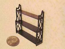 Dollhouse Miniature 1:24 Mahogany Chippendale self - Artist Made Furniture