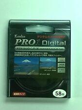 Kenko 58mm Pro1 Digital WIDEBAND CIR Circular Polarizer CPL C-PL (W) Filter