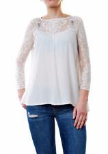 For Love & Lemons Women's Bonita Long Sleeve Blouse White Size S RRP £ 145 BCF65