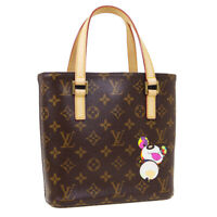 LOUIS VUITTON VAVIN PM HAND TOTE BAG SN0084 PURSE MONOGRAM CANVAS M51173 37419