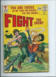 FIGHT THE ENEMY -- TOWER COMICS -- AUG. 1966 -- VIET NAM WAR