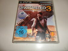 PLAYSTATION 3 UNCHARTED 3: Drake 's Deception