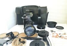 Krasnogorsk-3 16mm Film Camera Working  Great Condition & METEOR-5-1 17-69mm M42