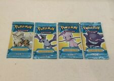 Pokemon EX Legend Maker Packs! Gengar, Arodactyle, Mew And Arcanine Arts SEALED!