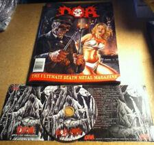 DOA #666 (MAGAZINE + CD, 2015) Death/Black Metal, Obituary, Ensiferum, Mordbrand