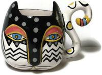 Laurel Burch Cat Mug Cup or Succulent Planter