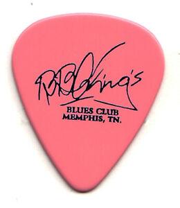 B.B. King Signature Memphis Blues Club Pink Guitar Pick