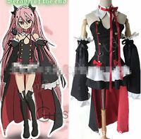 Anime Séraphin de la fin Cos Cosplay Costume Vampire Krul Tepes Halloween